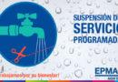 Suspensión de agua potable en barrios del sur para reparar línea abastecedora