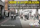 Inician trabajos para ampliar la plataforma única de la calle Venezuela