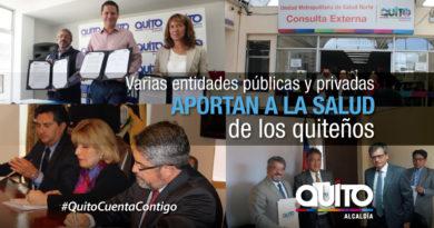 Salud: Convenios interinstitucionales permiten lograr una ciudad más saludable