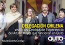 Quito y Chile trabajan en el fortalecimiento del programa del Adulto Mayor