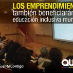 Funcionarios de la educación inclusiva municipal  se capacitan en emprendimientos