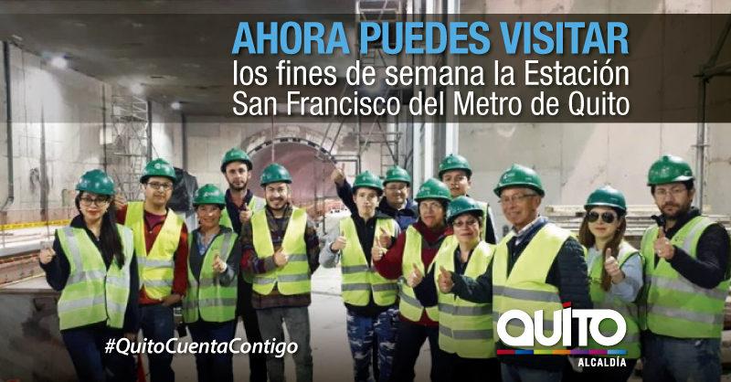 La Estación San Francisco se suma al programa de visitas guiadas