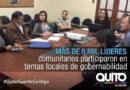 38 Mesas de Trabajo permitieron afrontar problemas en los barrios