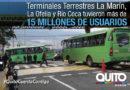 Más de 15 millones de usuarios movilizados desde las terminales microrregionales en 2018