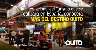 Quito promocionará su oferta turística en Fitur 2019