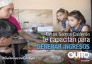 Nuevos talleres en Casas Somos de la Zona Calderón