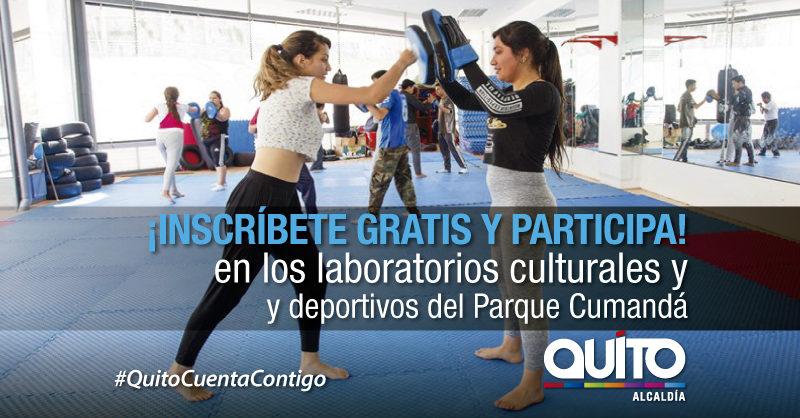 Inician inscripciones para laboratorios culturales y deportivos Cumandá 2019