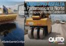 Mantenimiento vial de la Panamericana Norte desde Carapungo hasta Calderón