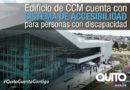 Centro de Convenciones Metropolitano de Quito cuenta con Certificación Internacional de Accesibilidad