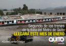 El Metro de Quito y sus primeros retos en 2019