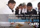 El cuidado de la salud de los moradores de la Zona Calderón