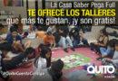 Participe en los talleres gratuitos en la Casa Saber Pega Full