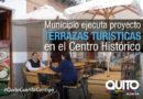 Terrazas turísticas en el Centro Histórico