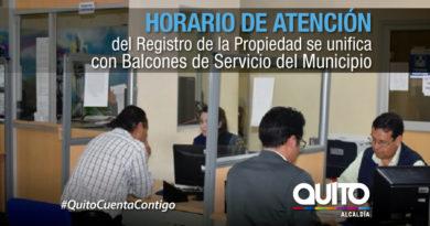 Registro de la Propiedad cambia su horario en el área de Servicios Ciudadanos