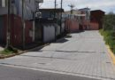 Nuevo adoquinado en las calles Tadeo Benítez y Correa