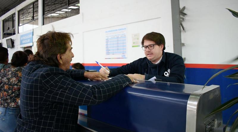 La matriculación vehicular, para placas en uno, está vigente en febrero