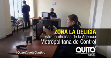 Agencia Metropolitana de Control abrió nuevas oficinas en la Delicia