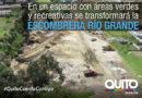 Escombrera parque quebrada Río Grande cumplió el 40% de su vida útil