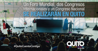 Importantes eventos internacionales se desarrollarán en Quito