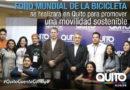 Quito será sede del Foro Mundial de la Bicicleta