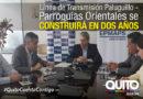 Financiamiento para el tercer componente del Proyecto Chalpi Grande-Papallacta