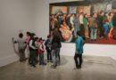 Niñas y niños disfrutan de su tiempo libre a través del arte
