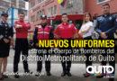Bomberos Quito renueva su imagen