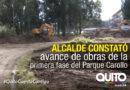 Iniciaron los trabajos de la primera fase del parque Carollo
