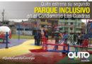 Se inauguró parque inclusivo en Las Cuadras