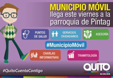 Municipio Móvil visita esta semana a Pintag