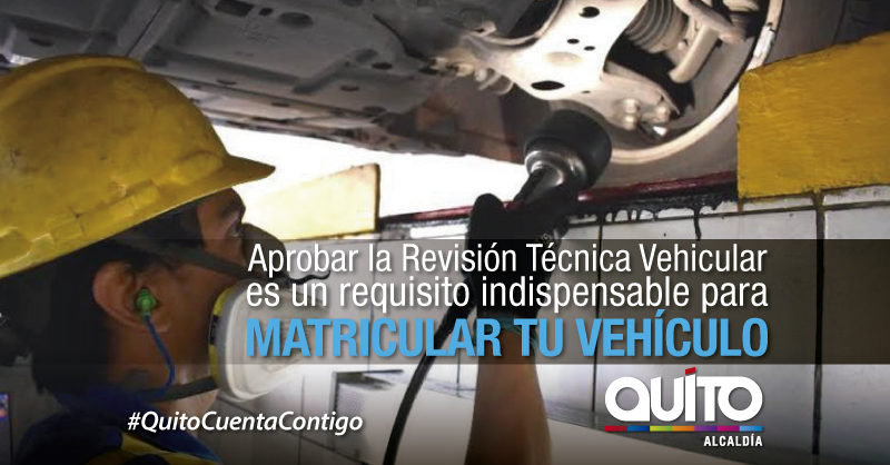 Pasos para la revisión técnica vehicular