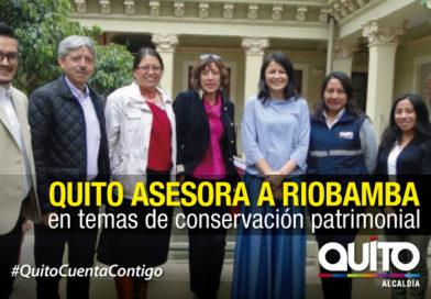 Riobamba busca guía del IMP en incentivos para rehabilitación patrimonial