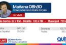 Este miércoles 13 de marzo las radios de la Capital entrevistan al alcalde Mauricio Rodas