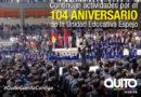 104 años de la Unidad Educativa Municipal Eugenio Espejo