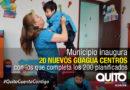 Meta cumplida: Quito cuenta con 200 Guagua Centros