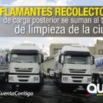 EMASEO EP incorpora nuevos camiones para continuar con la normalización del servicio