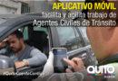 Tránsito: Sancionan a través de una aplicación Móvil