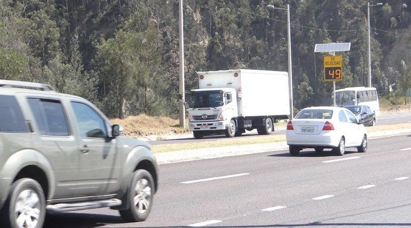 Los radares de velocidad de la ciudad de Quito entraron en mantenimiento