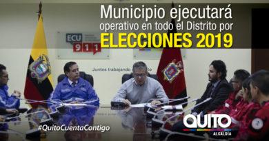 Plan  de Prevención, Respuesta y Movilidad Elecciones Seccionales 2019