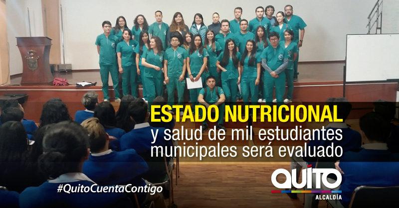 Proyecto universitario de salud en planteles educativos municipales