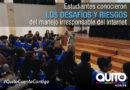 Instituciones educativas municipales participaron de un foro en el marco del Día del Consumidor