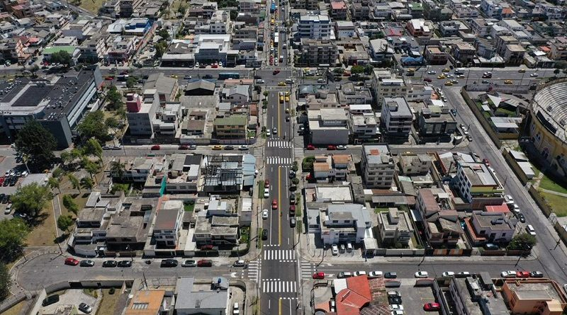Tres calles del norte de Quito lucen con nueva señalización