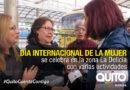 Una programación para conmemorar el Día de la Mujer en la Delicia