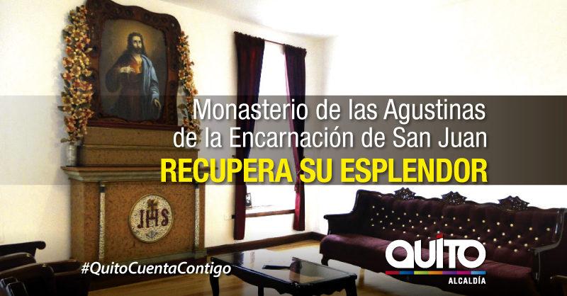 Monasterio de Madres Agustinas recibió la bendición, luego de su intervención