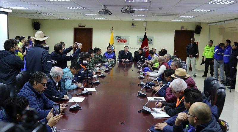 Alcalde de Quito: Aluvión en barrio Osorio fue producto de un fenómeno natural