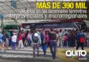 Desde las terminales de Quito se movilizaron 391 970 usuarios en el feriado de Carnaval