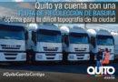 Alcalde Rodas: EMASEO dispone de  40 camiones para la recolección de desechos sólidos en el Distrito