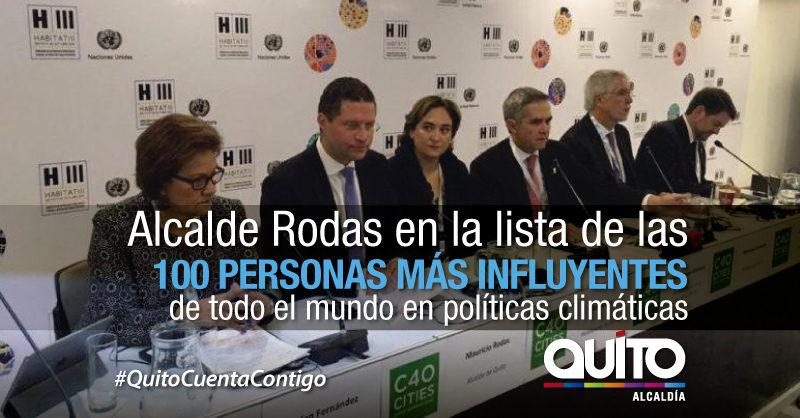 Alcalde Rodas Entre Las Personas Mas Influyentes Del Mundo En