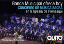 Festival de música sacra llega a Pomasqui