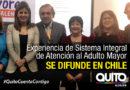 María Fernanda Pacheco expone los resultados del Sistema Integral de Atención al Adulto Mayor
